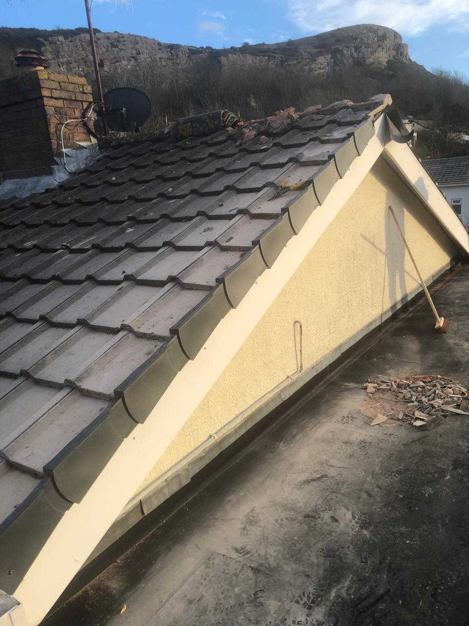 EPDM Roof in Llanddulas.